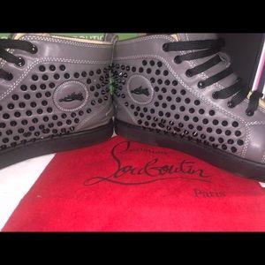 1a91c786421 Men's Christian Louboutin fashion sneakers size 11